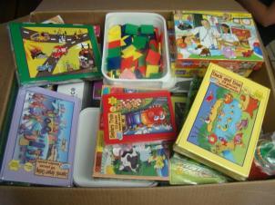 Educatief speelgoed voor dagcentrum