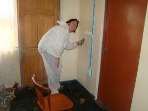 De nodige schilderwerken uitvoeren